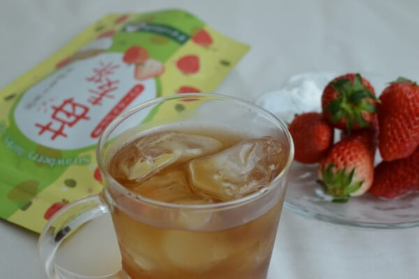 strawberry barley tea
