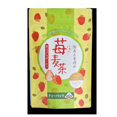 strawberry barley tea bag