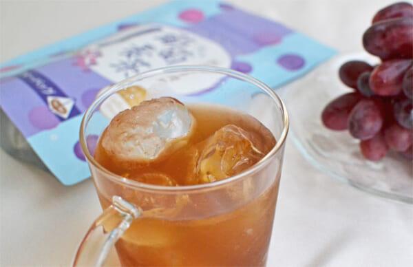 grape barley tea