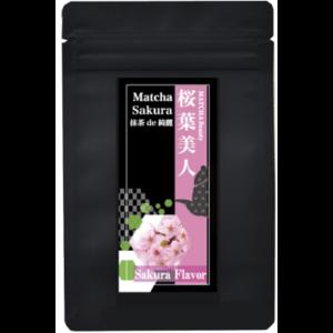 dessert matcha sakura
