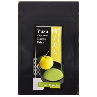 dessert matcha yuzu