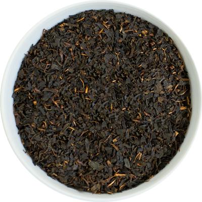 or black tea leaf